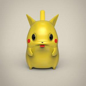 3D Pikachu Toy