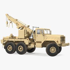 M939 Military Wrecker Light Rigged 3D model