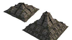2 Model Pyramid Temple 01 01-02 3D