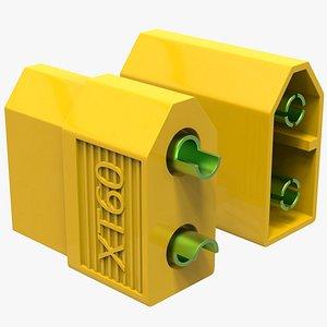 3D xt60 connectors