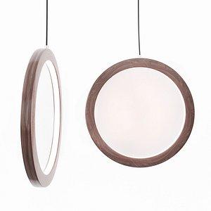 3D pendant lamp wood
