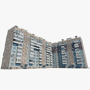 3D Brezhnevki Molokova St 3