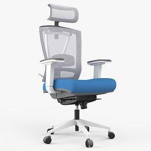 Office Chair 07 - 8K PBR Textures 3D
