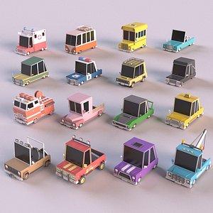 stationwagon cabriolet suv 3D