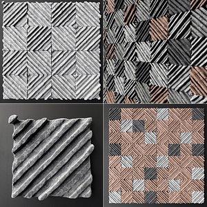 panel concrete 3D