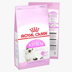 Royal Canin Kitten Second Age 3D model