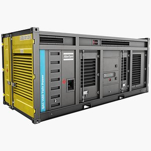 1450 qac twinpower generator 3D model