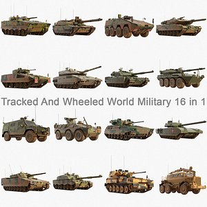 3D model ifv tank merkava