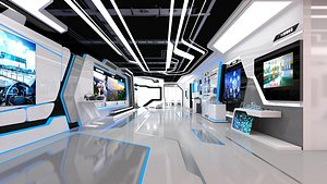 Exhibition Hall Science and technology Exhibition Hall Digital Exhibition Hall multimedia Exhibition 3D
