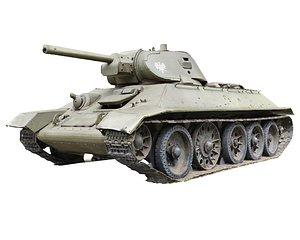 Old  Tank Scan 3D model