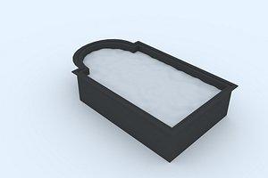 3D model pool 4