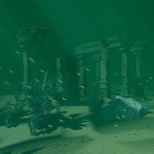 Undersea World 02 3D model