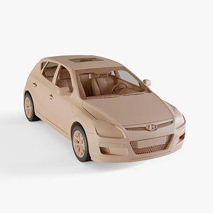 2010 Hyundai I30 3D