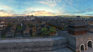 Chinese Ancient Buildings 05 3D model