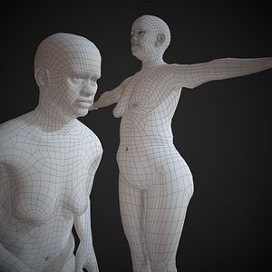 3D model base mesh basemesh