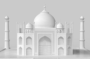 Taj Mahal 3D Model model