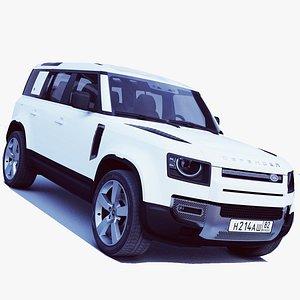 Land Rover Defender 2020 3D model