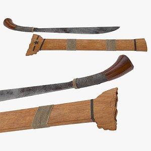 3D Bangkung Sword