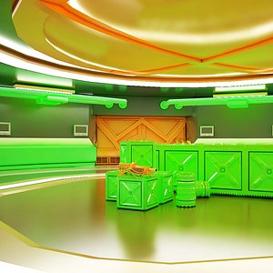 Sci-fi Corridor 03 HI-RES 3D model