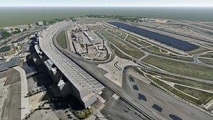 daytona speedway 3D model