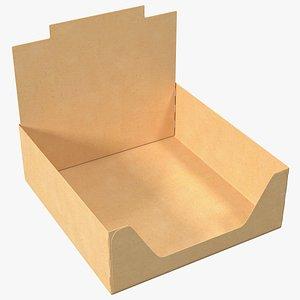 3D Empty Chocolate Box