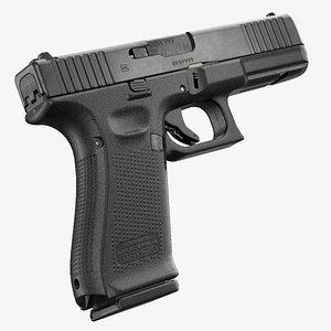 ready glock 17 gen 3D model