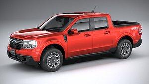 Ford Maverick Lariat FX4 2022 3D model