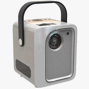 led video projector 3D model
