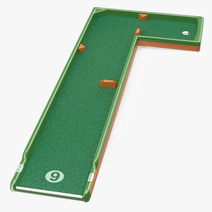 minigolf 35 portable course 3D model