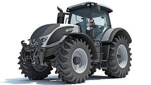 valtra tractor 3D
