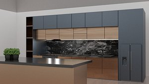 Kitchen 3d 3D