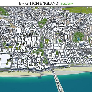 3D Brighton England