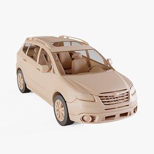 2010 Subaru Tribeca 3D model