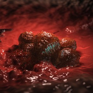 cancer cells biokit 3D model