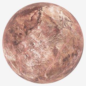3D Dwarf Planet Makemake