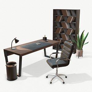 3D office modern model