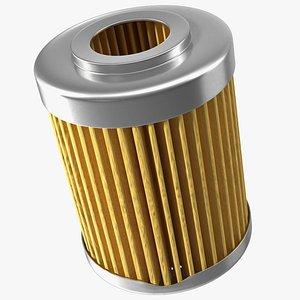 3D Fuel Filter Paper Element