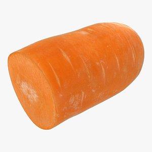 carrot half 3D