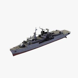 3D model Meko 360H2 Frigate