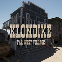 Klondike - Far West Village - Unity HDRP