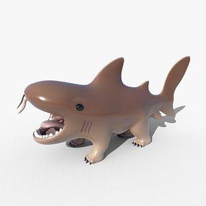 3D model Nurse Doggo