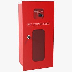 extinguisher box 3D model