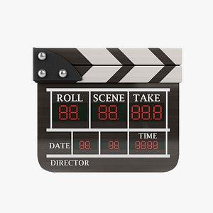 3D cinema director model