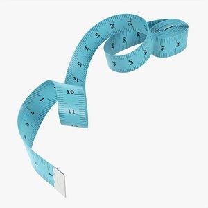 3D Tailor measuring tape 01 model