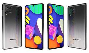 3D Samsung Galaxy F62 Laser Gray
