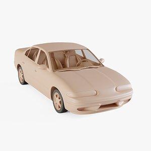 3D 1998 Oldsmobile Alero model
