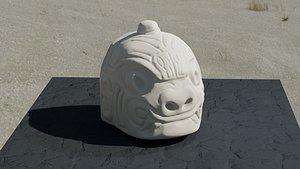 3D Head Chavin model