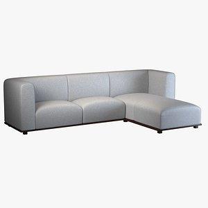 sofa l-sofa 3D
