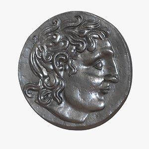 3D Ancient Panticapaeum Coin model