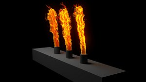 3D Fire animations generation model
